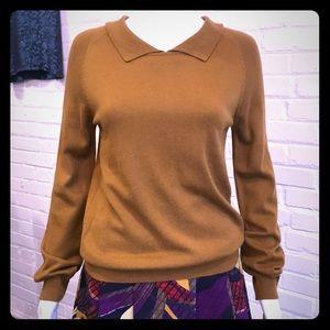 Cotton Blend Knit Top